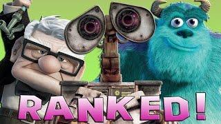 14 Pixar Movies Ranked