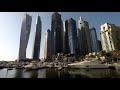 Dubai Marina JBR Beach Walking Tour 4K