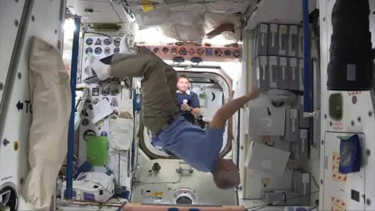do astronauts in the space station experience gravity - photo #48