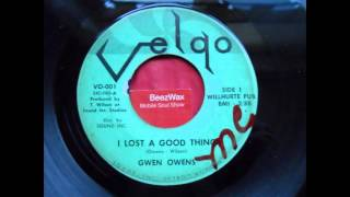 gwen owens - i lost a good thing
