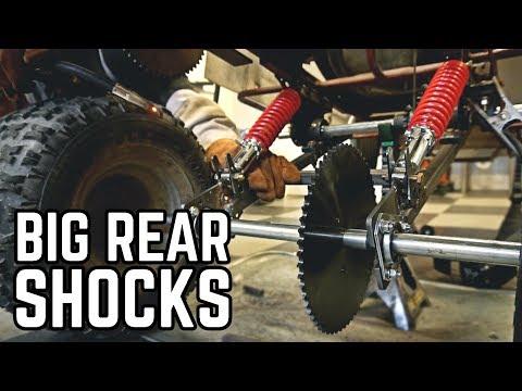 HUGE Lift | Monster Truck Kart Pt. 2