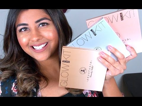 Anastasia Beverly Hills GLOW KITS: Review & Swatches!