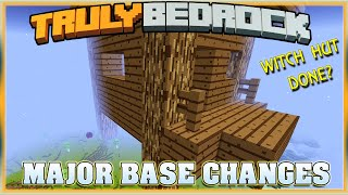 Truly Bedrock S1E52 Major Base Changes!!!  | Minecraft Bedrock Edition SMP, MCPE, MCBE