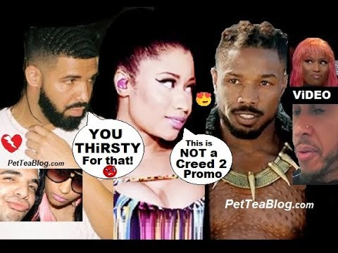Drake Calls Nicki Minaj THiRSTY for Michael B Jordan Shot Lewis Hamilton Cool with him ❥