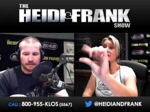 The Heidi Amp Frank Show 10 18 12 Frank Shoots Hand