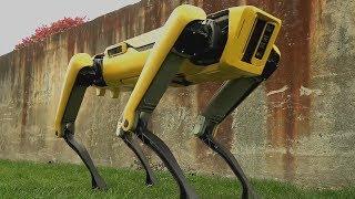 The New SpotMini Talking Robot