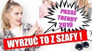 ⛔ 10 TRENDÓW, KTÓRE SĄ JUŻ NIEMODNE! trendy wiosna lato 2019 | ShoeLove