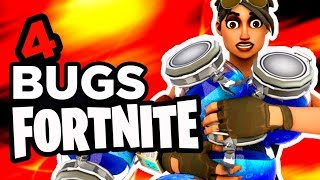 4 BUGS SUR FORTNITE