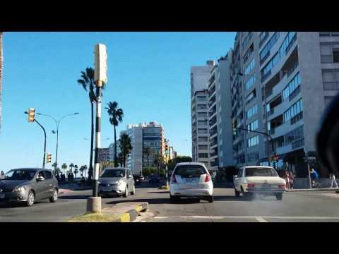 Paseando por Montevideo: desde Rambla Malvín hacia Rambla Portuaria.