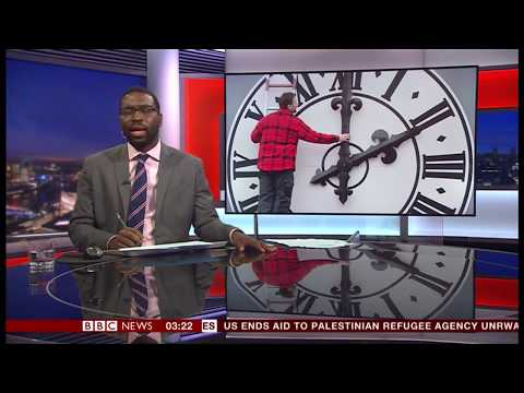 EU to scrap Daylight Saving Time? (Europe) - BBC News - 1st September 2018