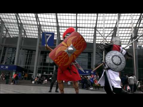 Roman soldier VS Crusader