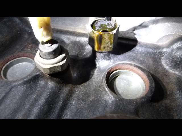 Riding Mower Oil Pressure And Knock Sensor Location And