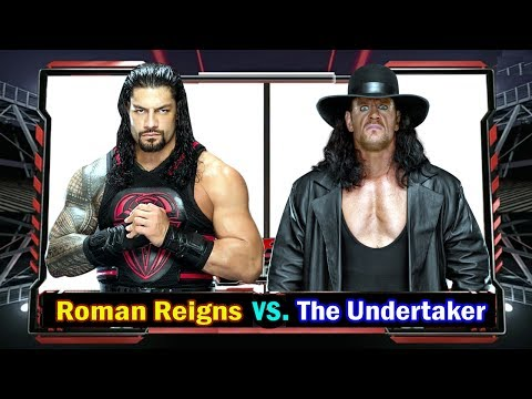 Roman Reigns vs. The Undertaker Full HD WWE Workout at Gym: Raw October, 2017