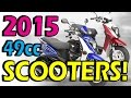 Top 49cc Scooters of 2015