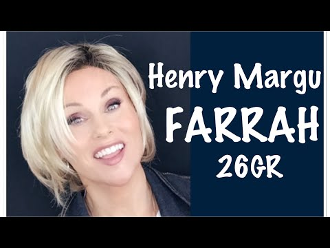 Henry Margu FARRAH Wig Review In 26GR -  ⭐️STRIKING MODERN BOB🌟