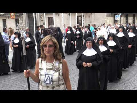 Corpus Christi en Madrid 2019 Calle Mayor con Plaza de la Villa
