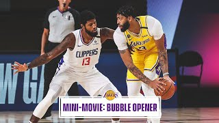 Mini-Movie: Lakers Restart With Win Over Clippers