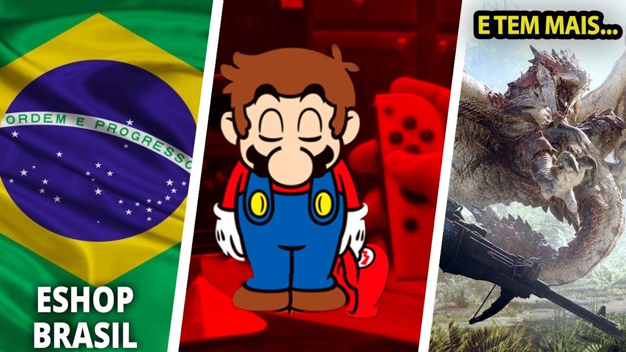 Nintendo Brasil manda novo recado para os fãs sobre a eShop ❘ Furukawa fala, e mais... #CoelhoNews