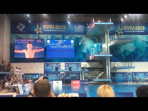 Алексей Середа все прыжки На Чемпионате Европы 2019 Киев  Финал 11.08.2019