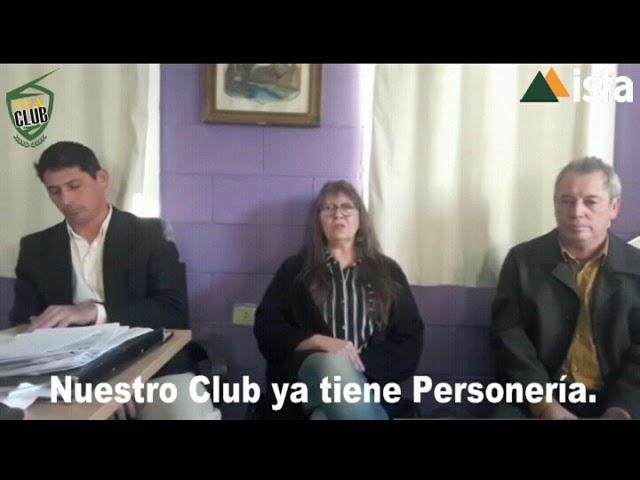 Nuestro Club ya tiene Personería