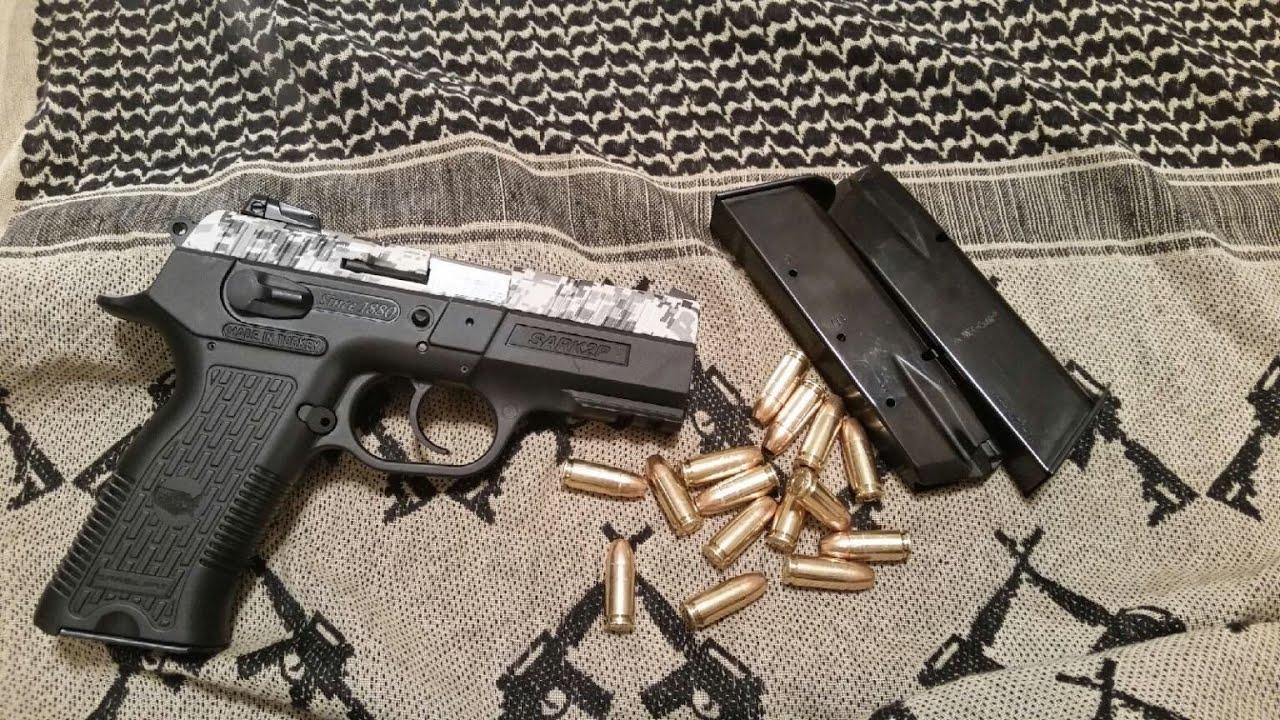 Budget Handguns - Part 1: SAR Arms K2P 9mm - VidInfo