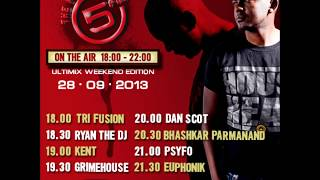 TriFusion   5FM Ultimix Weekend Edition [28 09 2013]