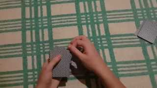 Карточная техника - Сдача нижних [Bottom deal]