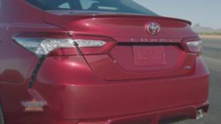2018 Toyota Camry Revealed at Detroit Auto Show