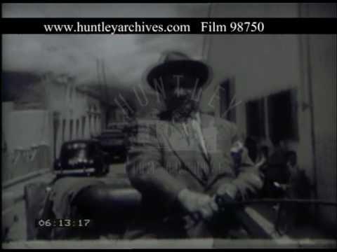 Caracas Street Scenes Venezuela, 1950s - Film 98750