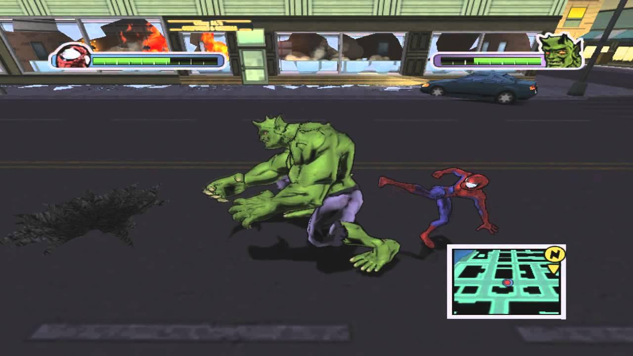 Ultimate Spiderman Walkthrough part 11 (Spidey vs Green ...