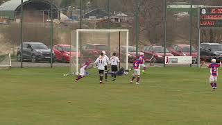 Roddy Young scores to make it Kingussie 2 Lovat 0 on 20th April 2019 – Cottages com MacTavish Cup