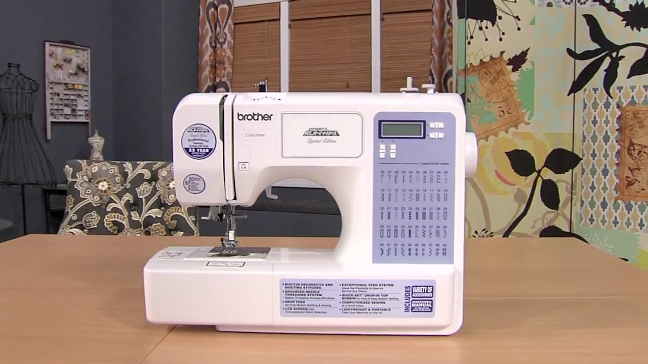 Brother CS5055PRW Project Runway Limited Edition Sewing Machine