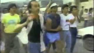 1986 snap election violence in Guadalupe Elementary School