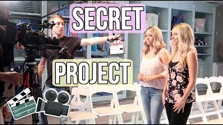 REVEALING OUR SECRET!!! BEHIND THE SCENES