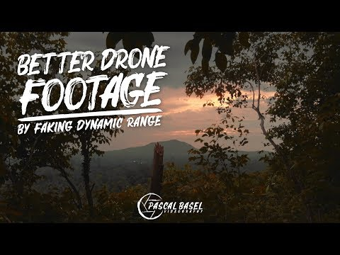 Get BETTER DRONE FOOTAGE by FAKING DYNAMIC RANGE | Mavic Air FCPX Drone Tutorial