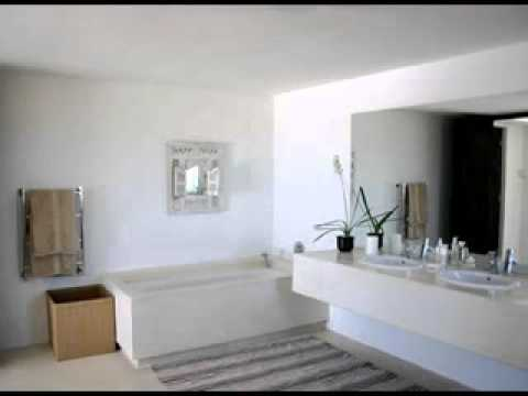 Cool beach house bathroom design decorating ideas youtube for Cool beach decor