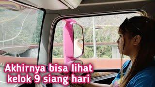 Driver Shadow17 otw Padang lewat kelok 9 star dari sungai Kampar...