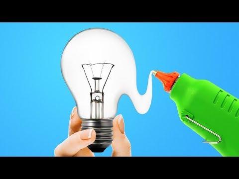 신기하고 쉬운 DIY 가정 장식 21가지아이디어