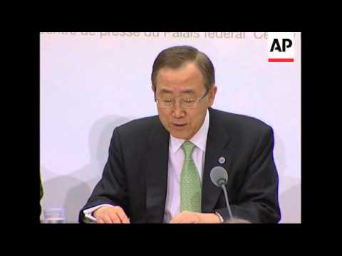 UN to set up task force to tackle global food crisis, Ban; file