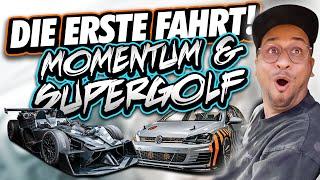 JP Performance - SUPERGOLF & MOMENTUM | DIE ERSTE FAHRT