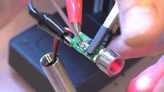 ЛАЗЕР НЕ ЖЖЁТ: Китайский лазерный гравер Decaker (1500 мВт)