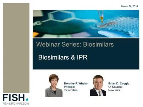 Webinar | Biosimilars & IPR