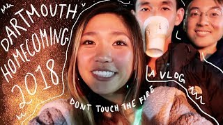 VLOG 🔥 DARTMOUTH HOMECOMING 2018 (we Luv Fire)   JustJoelle1