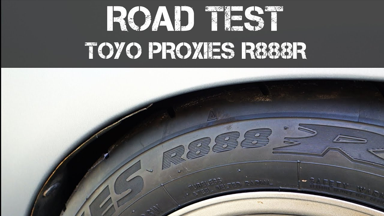 Toyo R888r Semi Slick Tyres Quick Road Test Review