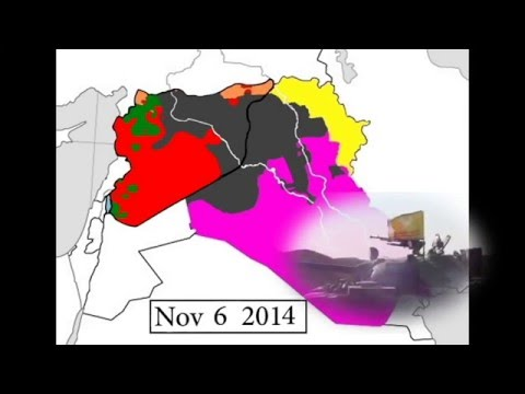 UPDATED | Every Day Syrian and Iraqi Civil Wars March 2011 - March 2016