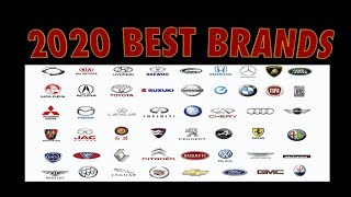 2020 Top Most Reliable Car Brands From Best To Worst !!!