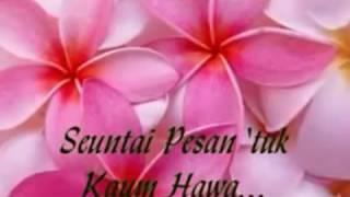 vuclip Seuntai pesan untuk kaum HAWA