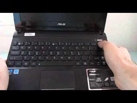 Asus Eee PC X101 MeeGo netbook