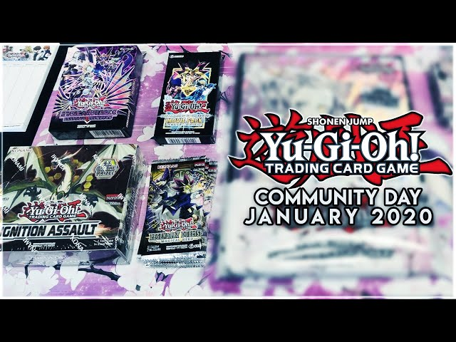EARLY Ignition Assault, DSOD Movie Pack, Magical Hero & More! Yu-Gi-Oh Community Day January 2020!