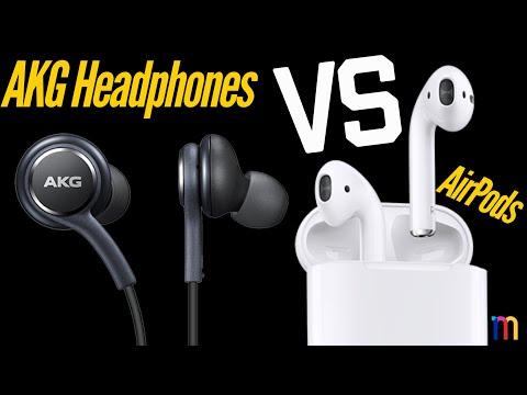 Apple AirPods VS AKG Note 9 Headphones